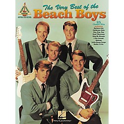 Hal Leonard The Very Best of the Beach Boys Guitar Tab Songbook (690503)