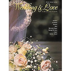 Hal Leonard The Wedding And Love Collection Piano, Vocal, Guitar Songbook (490377)