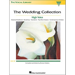 Hal Leonard The Wedding Collection (The Vocal Library Series) For High Voice (443)