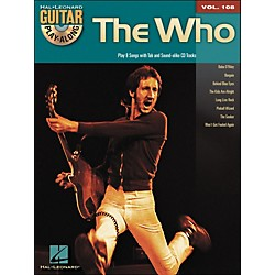 Hal Leonard The Who - Guitar Play-Along Volume 108 (Book/CD) (701053)