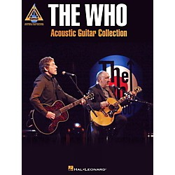 Hal Leonard The Who Acoustic Guitar Collection Guitar Tab Songbook (691941)