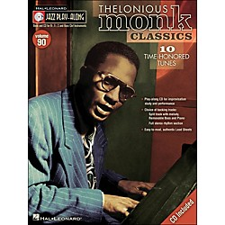 Hal Leonard Thelonious Monk Classics - Jazz Play-Along Volume 90 (CD/Pkg) (841262)