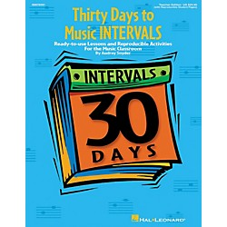 Hal Leonard Thirty Days to Music Intervals (9970591)