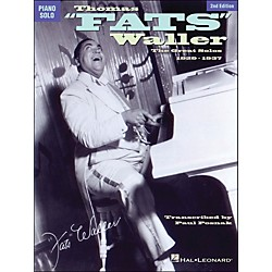 Hal Leonard Thomas Fats Waller - The Great Solos 1929-1941 arranged for piano solo (672370)
