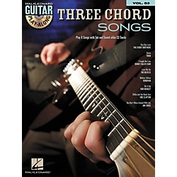 Hal Leonard Three Chord Songs: Guitar Play-Along, Volume 83 (Book/CD) (700178)