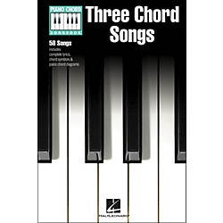 Hal Leonard Three Chord Songs Piano Chord Songbook (311814)