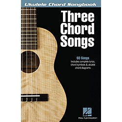 Hal Leonard Three Chord Songs Ukulele Chord Songbook (702483)