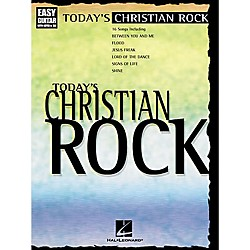 Hal Leonard Today's Christian Rock Easy Guitar Tab Book (702124)