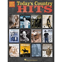 Hal Leonard Today's Country Hits Easy Guitar Tab Songbook (702220)