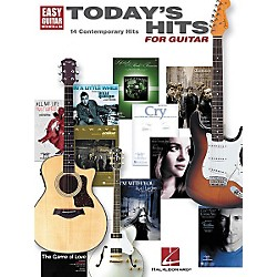 Hal Leonard Today's Hits for Easy Guitar Tab Songbook (702198)