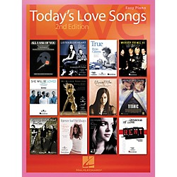 Hal Leonard Today's Love Songs 2nd Edition for Easy Piano (310461)