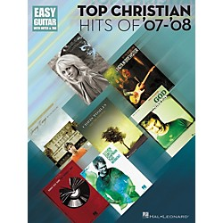 Hal Leonard Top Christian Hits Of '07-'08 Tab Songbook - Easy Guitar Series (702235)