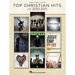 Hal Leonard Top Christian Hits Of 2010-2011 PVG Songbook (312090)
