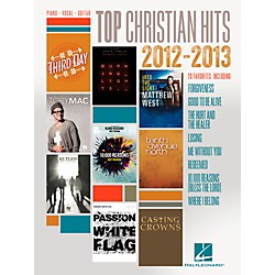 Hal Leonard Top Christian Hits of 2012-2013 for Piano/Vocal/Guitar PVG (114597)