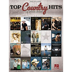 Hal Leonard Top Country Hits Of 2008-2009 (Piano/Vocal/Guitar Songbook) (311876)