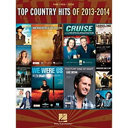 Hal Leonard Top Country Hits Of 2013-2014 for Piano/Vocal/Guitar (125359)