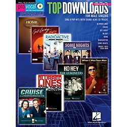 Hal Leonard Top Downloads - Pro Vocal Men's Edition Volume 65 Book/CD (123119)