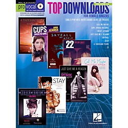 Hal Leonard Top Downloads - Pro Vocal Songbook & CD For Female Singers Vol. 62 (123120)