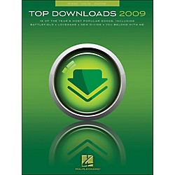 Hal Leonard Top Downloads 2009 arranged for piano, vocal, and guitar (P/V/G) (311933)