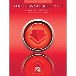 Hal Leonard Top Downloads Of 2013 for Piano/Vocal/Guitar (125360)