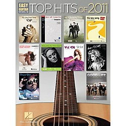 Hal Leonard Top Hits of 2011 Easy Guitar Songbook (702556)