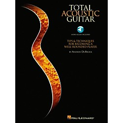 Hal Leonard Total Acoustic Guitar - Book/CD (696072)