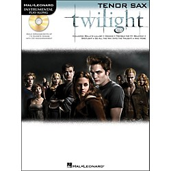 Hal Leonard Twilight For Tenor Sax - Music From The Soundtrack - Instrumental Play-Along Book/CD Pkg (842409)