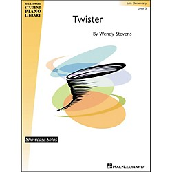 Hal Leonard Twister - Showcase Solos Level 3 Hal Leonard Student Piano Library by Stevens (296774)
