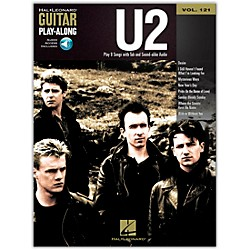Hal Leonard U2 - Guitar Play-Along Volume 121 (Book/CD) (701508)