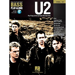Hal Leonard U2 -Bass Play-Along Volume 41 Book/CD (702582)