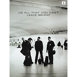 Hal Leonard U2 All That You Can't Leave Behind Guitar Tab Songbook (690837)