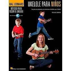 Hal Leonard Ukulele For Kids (Spanish Edition) Hal Leonard Ukulele Method Series Book/Online Audio (127108)