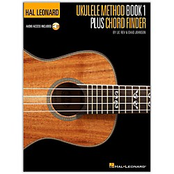 Hal Leonard Ukulele Method Book 1 Plus Chord Finder (Book/CD) (696472)