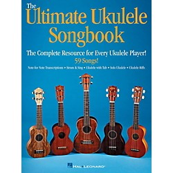 Hal Leonard Ultimate Ukulele Songbook - The Complete Resource For Every Uke Player (123089)