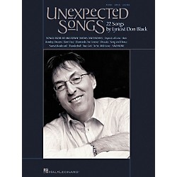 Hal Leonard Unexpected Songs Songbook (313236)