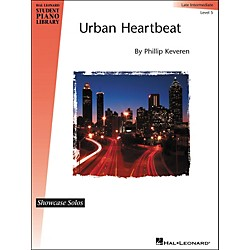 Hal Leonard Urban Heartbeat - Showcase Solo Level 5 Late Intermediate Hal Leonard Student Piano Library by Phill (296800)