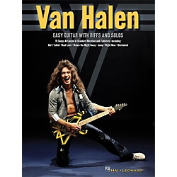 Hal Leonard Van Halen - Easy Guitar With Riffs And Solos (With Tab) (102711)