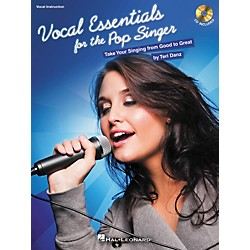 Hal Leonard Vocal Essentials For The Pop Singer: Take Your Singing From Good To Great (Bk/CD) (311934)