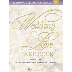 Hal Leonard Wedding & Love Fake Book 5th Edition (240041)