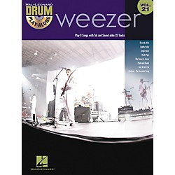 Hal Leonard Weezer - Drum Play-Along Volume 21 Book/CD (700959)