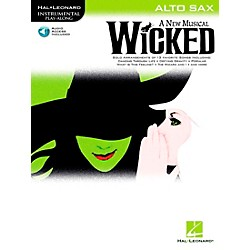 Hal Leonard Wicked For Alto Sax Book/CD (842238)