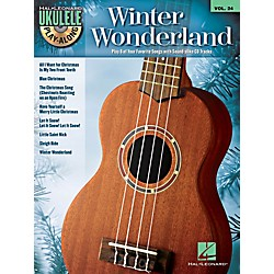 Hal Leonard Winter Wonderland - Ukulele Play-Along Volume 24 Book/CD (101871)