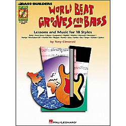Hal Leonard World Beat Grooves for Bass (Book/CD) (695335)