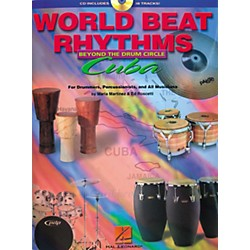 Hal Leonard World Beat Rhythms Beyond The Drum Circle - Cuba (Book/CD) (6620066)