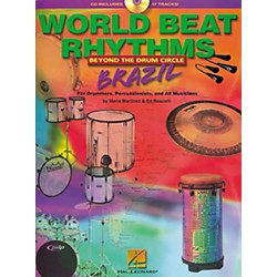 Hal Leonard World Beat Rhythms Brazil (Book/CD) (6620064)