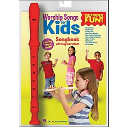 Hal Leonard Worship Songs For Kids Recorder Fun! Pack (710048)