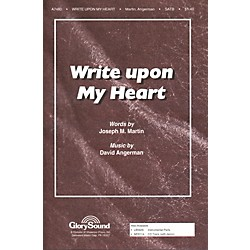 Hal Leonard Write Upon My Heart SATB (35026246)