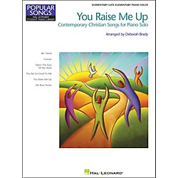Hal Leonard You Raise Me Up Elementary/Late Elementary Piano Solos Popular Songs Hal Leonard Student Piano Libra (296576)