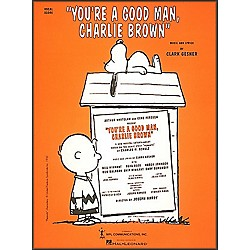 Hal Leonard You're A Good Man Charlie Brown Vocal Score (740596)