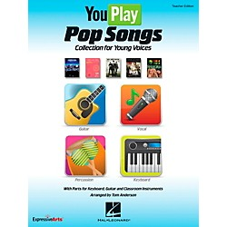 Hal Leonard YouPlay Pop Songs Collection for Young Voices, Teacher's Edition (9971667)